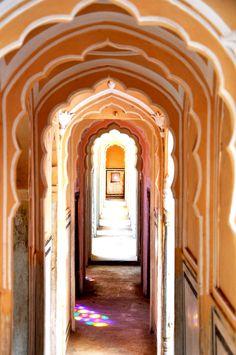 Palace of the Winds zenana hallway, Jaipur