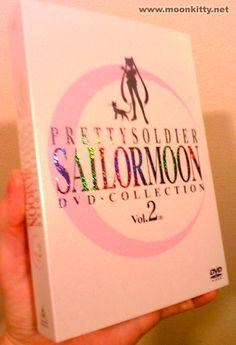 Japanese Sailor Moon DVD Box Set  bc somedays you need your childhood hero