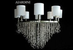 #Contemporary_chandeliers mod. Lisa by Aiardini Illuminazione srl. Available in more version. For further information please contact us to: info@aiardini.it.