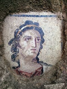Roman mosaic uncovered in Turkey The Ancient One, In Ancient Times, Ancient Art, Machu Picchu, Roman Art, Ancient Romans, Ancient Civilizations, Antique Art, Mosaic Art