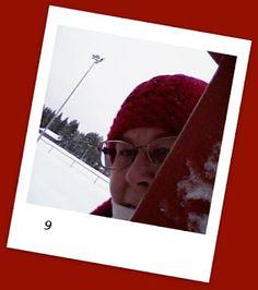 Kipakka kipinöi, kuvaa ja kutoo: Kipakan Joulun odotus 9 Polaroid Film