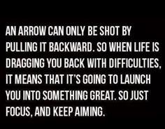 As An Arrow - On Going Forward