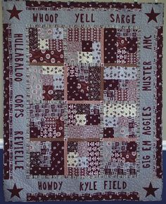 71 Best Aggie Blankets Quilts Or Pillows Images In 2019