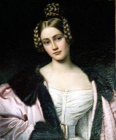 1834 Countess Holnstein by Joseph Karl Stiler (Schönheitengallerie Schloß Nymphenburg, München Germany)