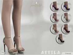 Attila shoes by Madelyn sims