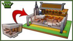 Simple Minecraft Blacksmith Design 1