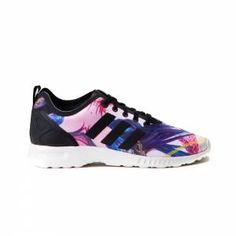 best loved 5b285 0f3c1 adidas zx flux zebre. Adidas Femmes Zebra Print ...