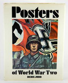 Posters of World War Two by Denis Judd 1973 HC DJ Patriotic Morale Propaganda 20919 by JacksonsMarket on Etsy