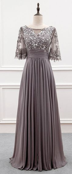 Wonderful Weddings: Gray short sleeve mother of groom dresses for the ...