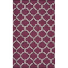 I pinned this Sal� 5' x 8' Rug in Raspberry from the Look: Worldly event at Joss and Main!