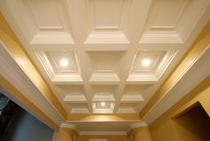 #TiltonCofferedCeiling panel options can create your perfect custom #ceiling system. http://www.tiltoncofferedceilings.com/product-options-coffered-ceiling-system/ceiling-panel-options/