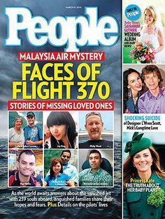 ON NEWSSTANDS 3/21/14: Missing Malaysian Flight 370: Inside the Lives Onboard. Plus: Samantha Gurthrie's wedding and more.