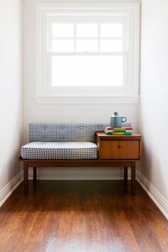 A small reading nook for a child
