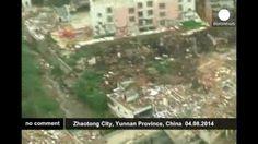 Terremoto en China: 381 personas muertas