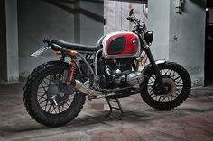 The custom bike scene is booming with a host of mainly older bikes being turned into Café Racers, Trackers, Bobbers, Scramblers and just about everything in between. But when Pierluigi Portolano, f…