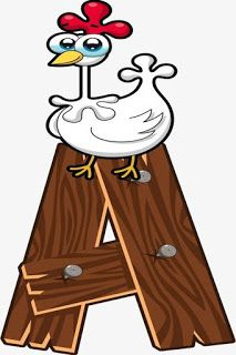 Escuela infantil castillo de Blanca: ALFABETO: LA GRANJA Farm Animal Crafts, Farm Animals, Alfabeto Animal, Alphabet Templates, Busy Book, Wood Letters, Craft Activities, Wood Design, Peace And Love