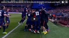 Highlights: Atletico Madrid 2-0 Barcelona