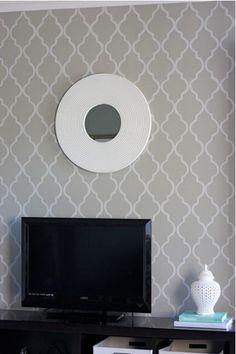 Moroccan - Grey & White