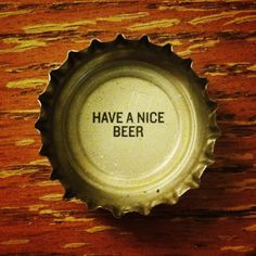Have a nice beer. (Deschutes Brewing cap) #craftbeer