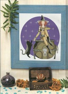 Witch with Cat 1/6