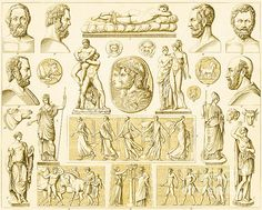 Greek and Roman Mythological Figures