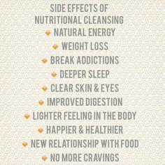 Yes! #nutritionalcleansingworks www.happygirlhealthy.isagenix.com