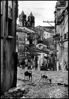 Centro Histórico pelourinho em 1963.
