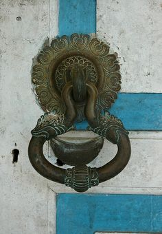 Makara door knocker Sri Lanka
