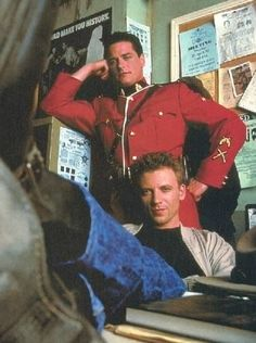 RayK and Fraser promo pic Callum Keith Rennie, Cops Tv, Due South, Holistic Detective Agency, Hot Cops, Daniel Radcliffe, Fujoshi, Beautiful Boys, Captain America