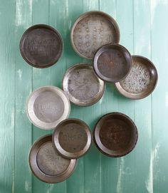 Aluminum Pie Tins  - CountryLiving.com