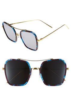 b4d02a32b4 Gentle Monster 53mm Retro Square Sunglasses Latest Sunglasses
