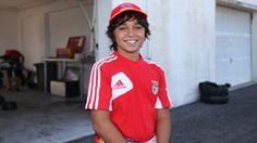 Simão Ventura, piloto de Karting apoiado pelo Sport Lisboa e Benfica, sagrou-se vice-campeão nacional júnior.