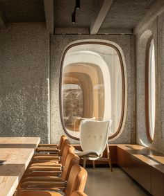 fosbury & sons transforms modernist masterpiece into co-working office in brussels Interior Architecture, Interior And Exterior, Boffi, Workspace Design, Co Working, Coworking Space, Commercial Interiors, Commercial Design, Office Interiors