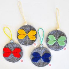 KALEIDOSCOPE BALL SETS - COLOURFUL GREY. Christmas Decorations that give a lot of love!