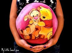 Beautiful: Discover the Belly Painting of future moms . Maternity Pictures, Baby Pictures, Baby Photos, Pregnancy Tattoo, Pregnancy Belly, Bump Painting, Painting Art, Pregnant Belly Painting, Belly Art