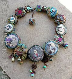 DSCN5488 Jewelry Textiles, embroidered beads, necklace