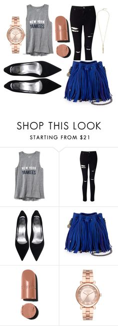 """""""perfeito 😍"""" by thaina-felix on Polyvore featuring Old Navy, Miss Selfridge, STELLA McCARTNEY, Chanel, Michael Kors and Cole Haan"""