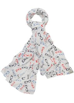 Glasses Print Scarf by PeopleTree, £25.00
