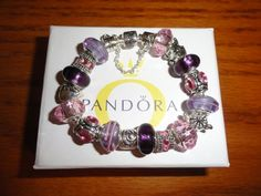 Pandora Bracelets & Swarovski: Exact Replicas- $50 each - They are beautiful!