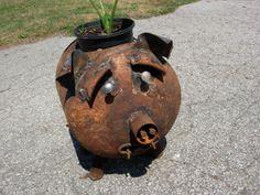 Pig Planter Prone Tank