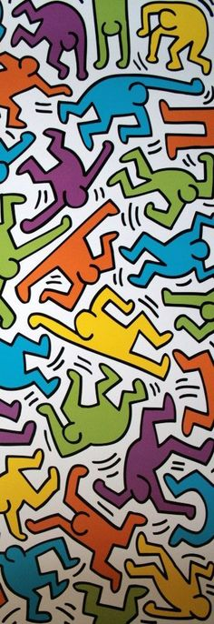 Trendy pop art projects for kids keith haring Ideas Pop Art, Keith Haring Art, Graffiti, Ecole Art, Middle School Art, Art Club, Art Plastique, Teaching Art, Elementary Art