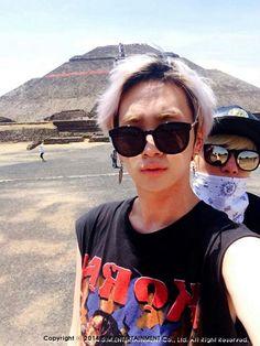 Jonghyun & Key. Teotihuacan<3