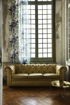 Christian Fischbacher Collezione Italia FLOREAL Fabric available from Canterbury Drapes www.canterburydrapes.co.nz