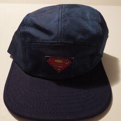 Superman Hat Cap Blue Polo Style Snapback COMICS COSTUME COSPLAY DC Comics  Hat  Bioworld  BaseballCap e9175aa8f32d