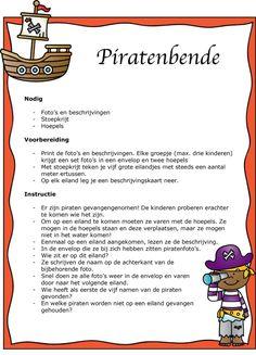 Taalspellen piraten | Klas van juf Linda Education, School, Birthday, Party, Books, Fun, Carnival, Birthdays, Libros