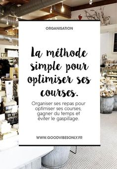 optimiser-ses-courses Organization Bullet Journal, Self Organization, Home Organisation, Budget Courses, Flylady, Family Organizer, Budgeting Finances, Good Vibes Only, Getting Organized