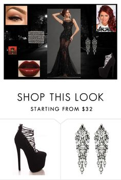 """Prom Dress: Natasha Romanoff"" by chesney-kuper ❤ liked on Polyvore featuring Ben-Amun and Accessorize"