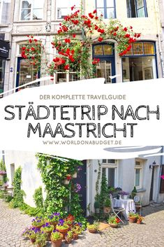 Reisebericht Maastricht: Ein Tagesausflug in die Niederlande Highlights, sights and real insider tips for one # City trip to in the Our travelogue will show you the best restaurants, cafes, vintage shops and interior shops for a city trip Holland Cities, Visit Holland, Amsterdam City, Amsterdam Travel, Europe Destinations, Medan, Holland Beach, Travel Report, Ville France