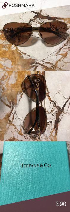 Tiffany Sunglasses Tiffany aviator sunglasses. Only worn a few times. Tiffany & Co. Accessories Sunglasses