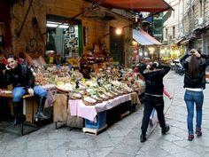 The Vucciria Market, Palermo